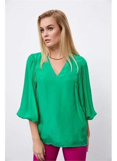 Setre Bluz Yeşil